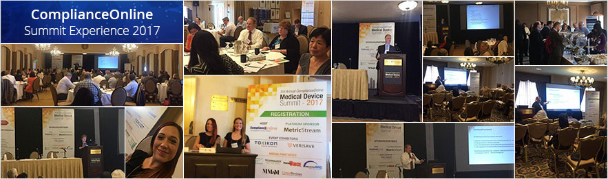 Medical Device Summit Exerience 2017