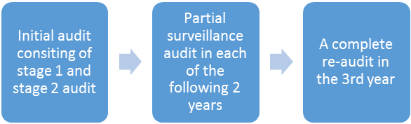 3 year audit cycle