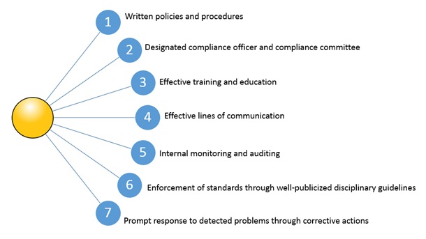 7 elements of healthcare compliance program
