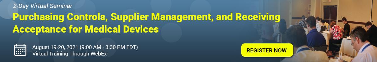 Purchasing Controls, Supplier Management