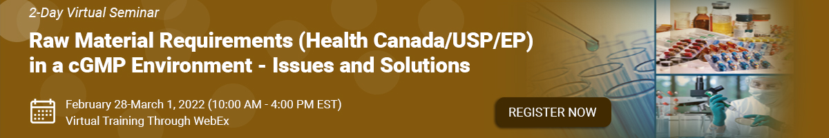 raw-material-requirements-health-canada-usp-ep-in-a-cgmp-environment
