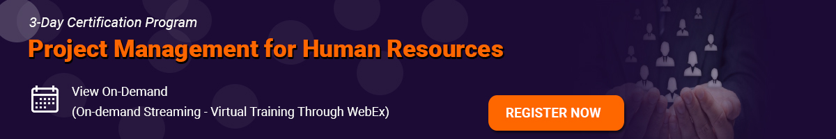 Project Management for Human Resources