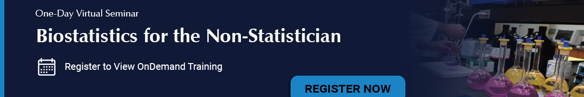 Biostatistics for the Non-Statistician