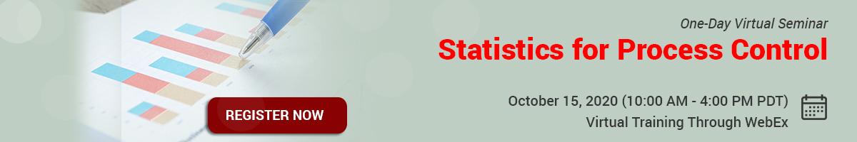 Statistics for Process Control