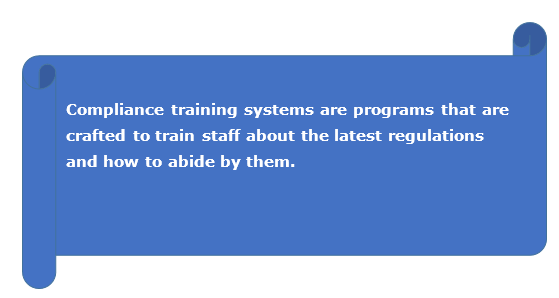 compliance training systems