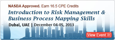Introduction to Risk Management and Business Process Mapping Skills-80107SEM-Bottom center