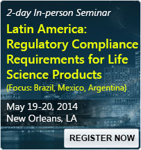 Latin America: Regulatory Compliance Requirements for Life Science Products (Focus: Brazil, Mexico, Argentina) - 80016SEM