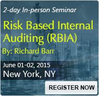 Risk Based Internal Auditing (RBIA) - 80196SEM