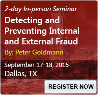 Detecting and Preventing Internal and External Fraud - 80096SEM