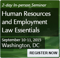 Human Resources and Employment Law Essentials - 80240SEM