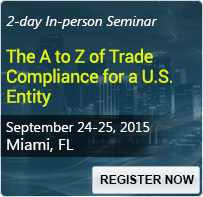 The A to Z of Trade Compliance for a U.S. Entity - 80279SEM