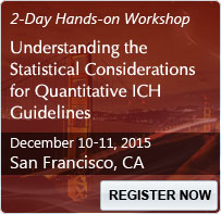 Understanding the Statistical Considerations for Quantitative ICH Guidelines - 80281SEM
