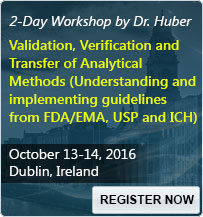 Validation, Verification and Transfer of Analytical Methods (Understanding and implementing guidelines from FDA/EMA, USP and ICH) - 80422SEM