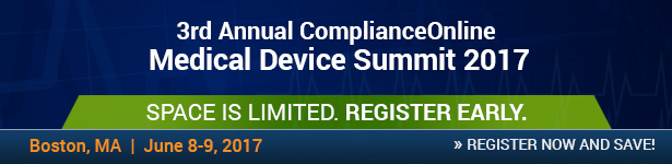 ComplianceOnline Medical Device Summit 2017
