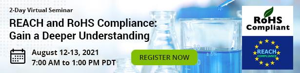 REACH and RoHS Compliance: Gain a Deeper Understanding