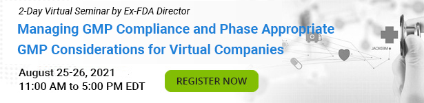 Managing GMP Compliance and Phase Appropriate GMP Considerations for Virtual Companies