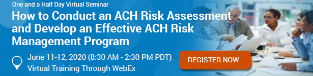 How to Conduct an ACH Risk Assessment