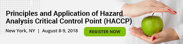 Principles and Application of Hazard Analysis Critical Control Point (HACCP)