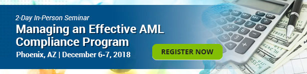 Managing an Effective AML Compliance Program