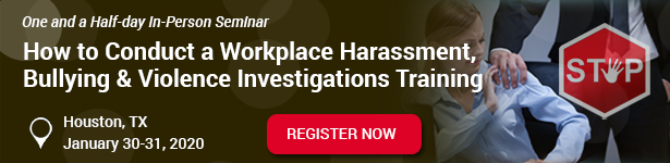 Workplace Harassment Training