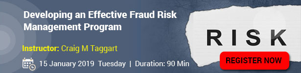 Developing an Effective Fraud Risk Management Program