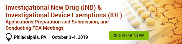 Investigational New Drug (IND) & Investigational Device Exemptions (IDE)