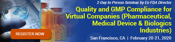 Quality and GMP Compliance for Virtual Companies