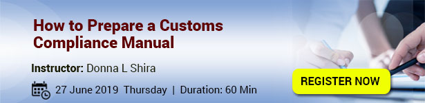 How to Prepare a Customs Compliance Manual