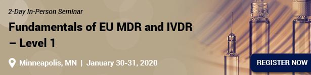 Fundamentals of EU MDR and IVDR