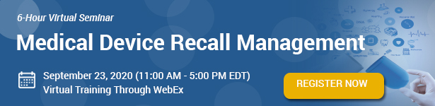 Medical Device Recall Management