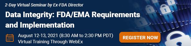 Data Integrity: FDA/EMA Requirements and Implementation