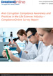 ComplianceOnline Survey Report: Anti-Corruption Compliance Awareness and Practices in the Life Sciences Industry