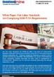 White Paper: Complying with FLSA Requirements