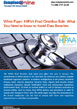 White Paper: HIPAA Final Rule- Avoiding Data Breaches