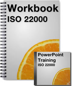 ISO 22000 Workbook and PowerPoints Package