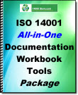 ISO 14001 All In One Documentation, Workbook and Tools Package