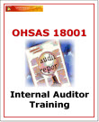 OHSAS 18001 Internal Auditor Training Materials