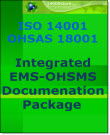 ISO 14001-OHSAS 18001 EMS-OHSMS Documentation Package