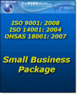 ISO 9001-14001-OHSAS 18001 Small Business Certification Package