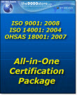 ISO 9001-14001-OHSAS 18001 All in One Certification Package