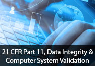 21 CFR Part 11, Data Integrity, and Computer System Validation